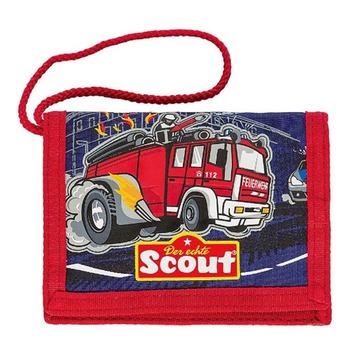 Кошелёк Scout Пожарная машина